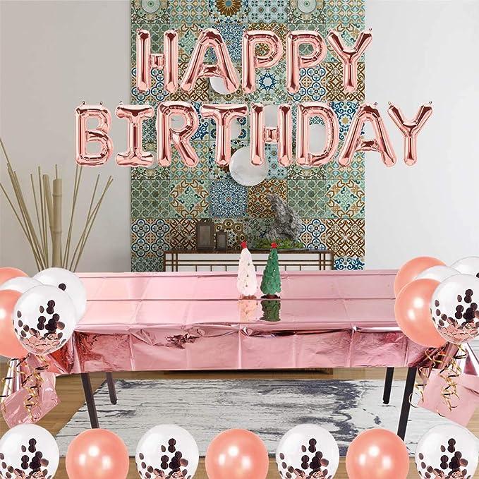 14 G 21st Or Rose Glitz table dispersent Confettis Femmes 21 Fête D/'Anniversaire Argent