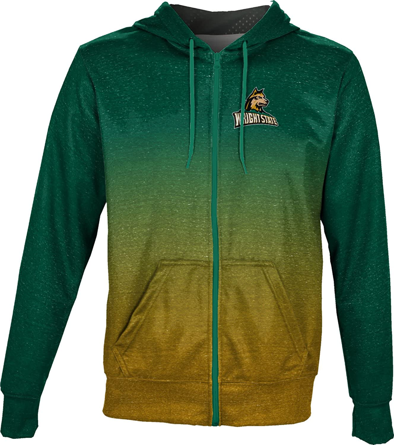 ProSphere Wright State University Boys Full Zip Hoodie Ombre