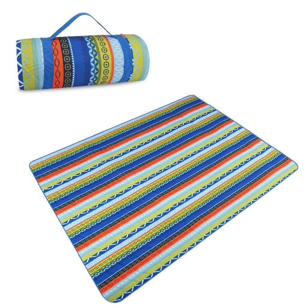 ピクニック毛布 ピクニックマット防水オックスフォード布防湿ビーチフィールドマット200×145 cm  B B07S4H6P7Q