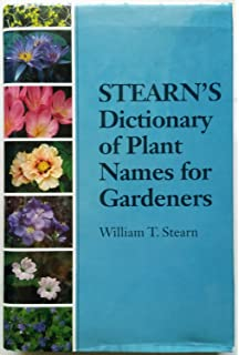 Dictionary of Plant Names: Botanical Names and Their Common Name