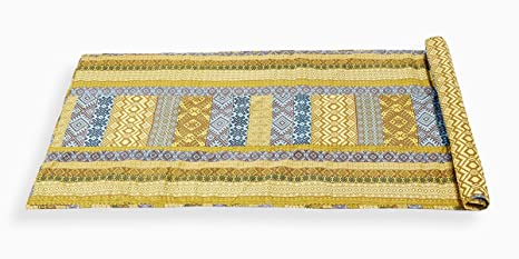 Amazon.com: YUGA Tribal Printed 100% Cotton Multicolour ...