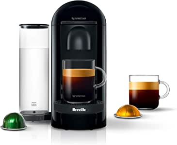 Nespresso VertuoPlus Coffee and Espresso Maker by Breville with BEST SELLING COFFEES INCLUDED