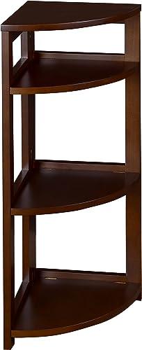 Regency Flip Flop 34-inch High Corner Folding Bookcase