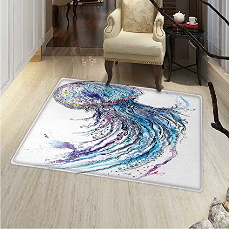 Amazon.com: Jellyfish Dining Room Home Bedroom Carpet Floor ...