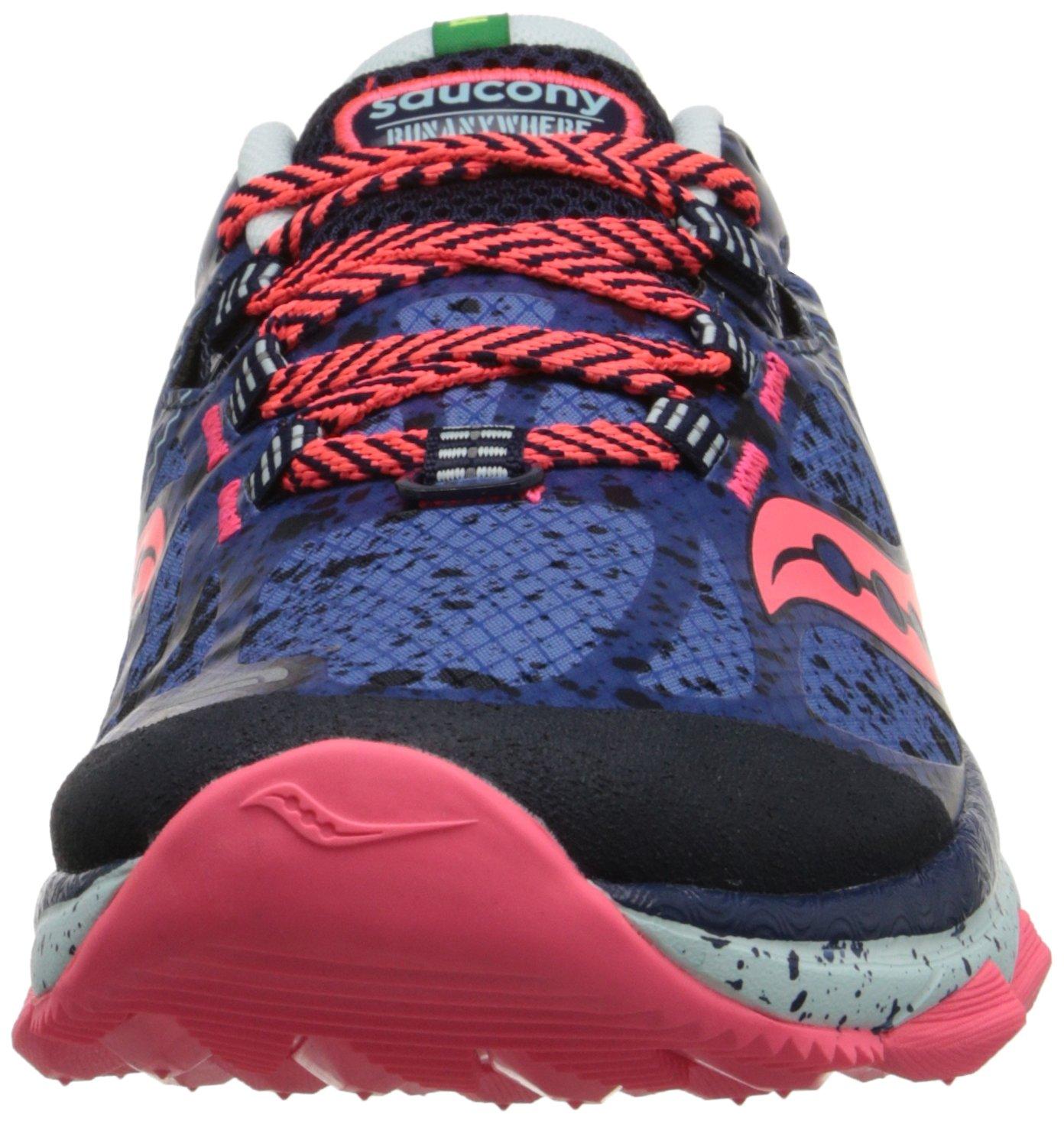 Saucony Women's Nomad TR Trail Running Shoe B00PJ8U9E0 6.5 B(M) US|Blue/Navy