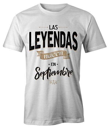 RiotBunny Las Leyendas Nacen en Septiembre Camiseta de ...