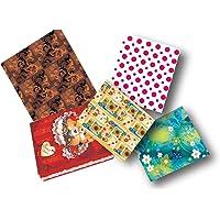 Caixa para Presente com Tampa Grande, 35x25.5x7.5 cm, Cores Sortidas, Pacote com 12 Caixas, Cristina, G-301/10