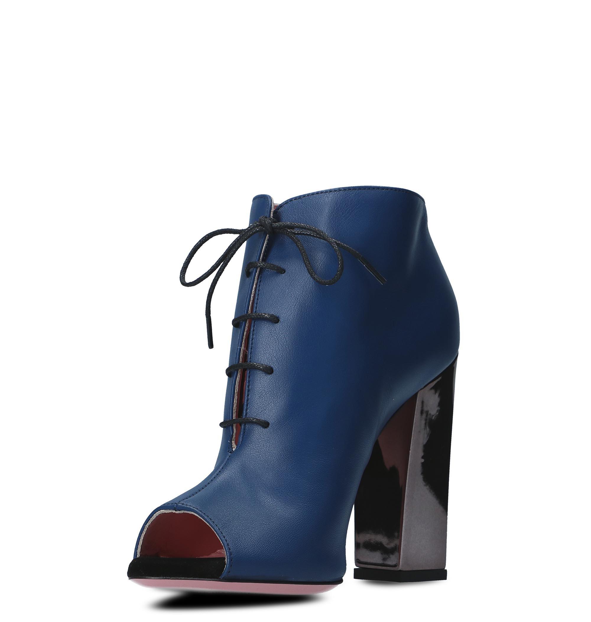 Tacchi Bottines Tipe 4211zbluette Cuir Femme Bleu E 5qwgaxgTR
