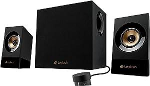 Logitech Z533 60 Watts Stereo Speakers & Subwoofer 2.1ch 980-001053 (Renewed)