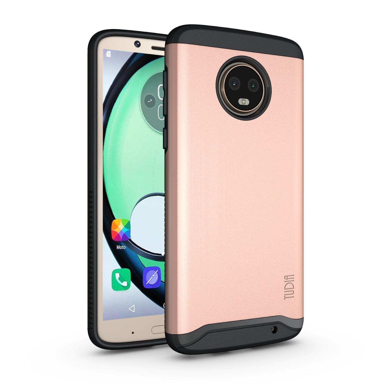 TUDIA Motorola Moto G6 Plus Funda, Caja Protectora Merge Tarea Pesada Protecció n Extreme de Doble Capa para Motorola Moto G6 Plus (Menta) Caja Protectora Merge Tarea Pesada Protección Extreme de Doble Capa para Motorola Moto G6 Plus (Menta)