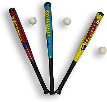Bate de b/éisbol de 70 cm de pl/ástico suave para ni/ños incluye pelota de b/éisbol