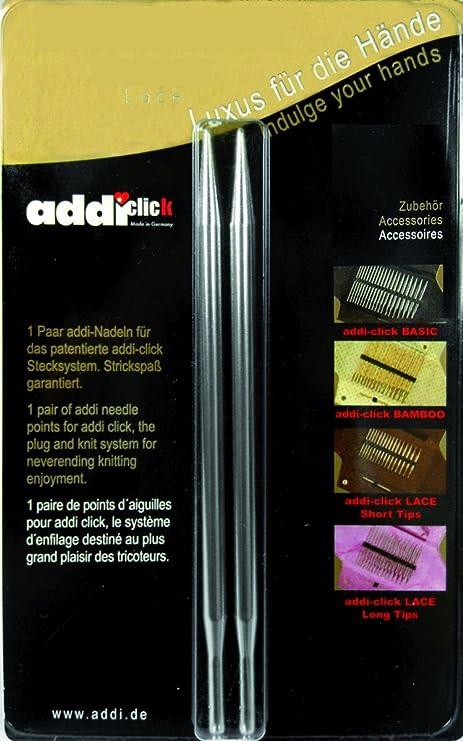 addi click Lace 1 Paar lange Nadelspitzen 3.5-8.0 mm