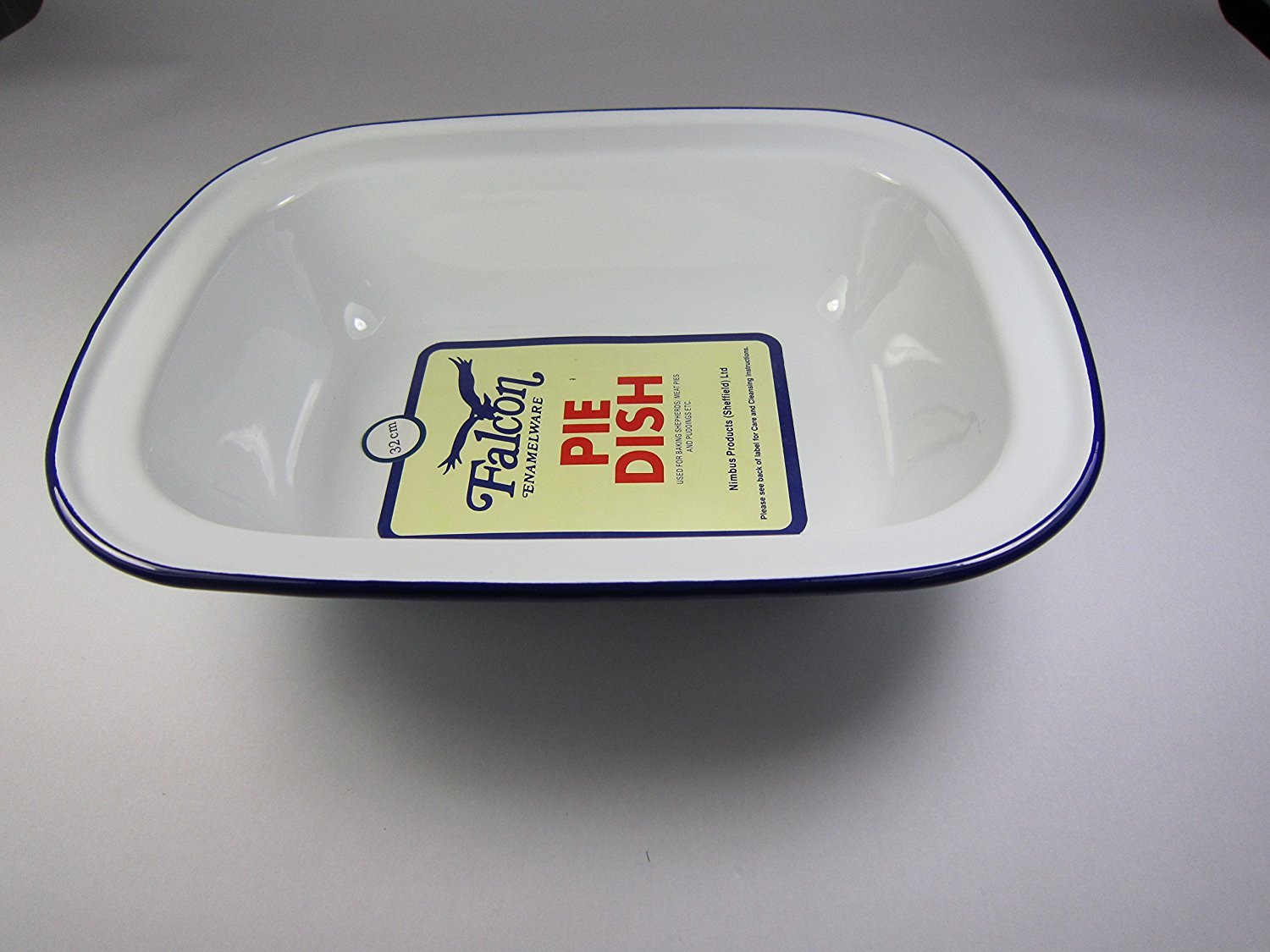 Falcon Enamel 32cm Oblong Pie Dish