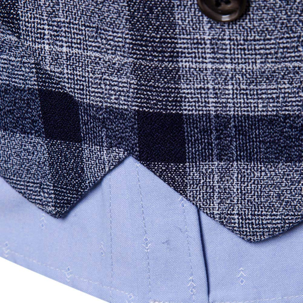 SMALLE ◕‿◕ Clearance,Men Button Casual Print Sleeveless Jacket Coat British Suit Vest Blouse by SMALLE (Image #4)