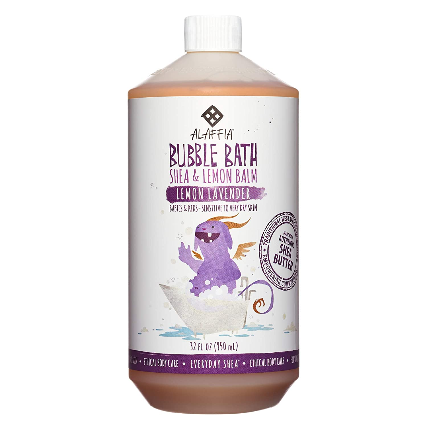 Everyday Shea Bubble Bath for Babies & Kids - Lemon Lavender