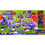 PJ Mask Parking Lot Play set with 3 mini PJ Mask Car
