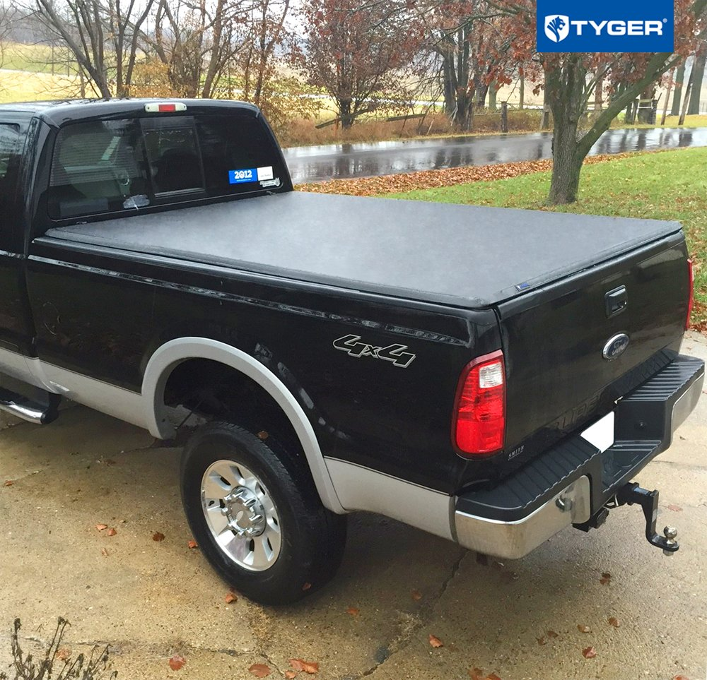 Tyger Auto T3 Tri-Fold Truck Bed Tonneau Cover TG-BC3F1124 Works with 2017-2019 Ford F-250 F-350 F-450 Super Duty Styleside 6.8 Bed