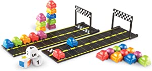 Learning Resources Mini Motor Math Activity Set, Homeschool, Includes Counting, Pattern, Addition and Subtraction Activities, 31 Pieces, Ages 4+