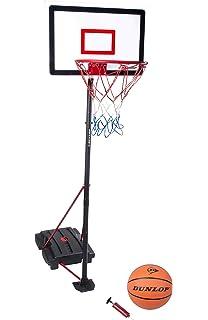Geburtstagsgeschenk outdoortips voll verstellbare freistehend Basketball Backbrett St/änder /& Hoop Set mit R/ädern