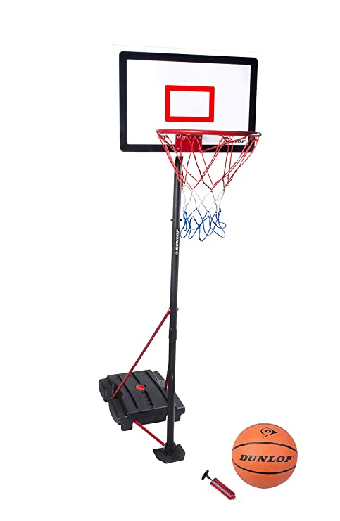 1c84f51d6706 Impianto Canestro Basket Set Portatile con Base Altezza Regolabile da 165 A  205Cm Pallacanestro con Pallone