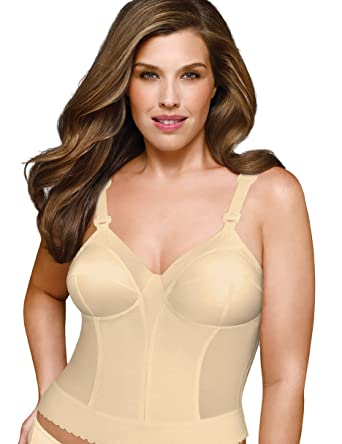 67d23f5ad7a23 Exquisite Form Fully Women s Back Close Longline Bra  5107532  Amazon.co.uk   Clothing