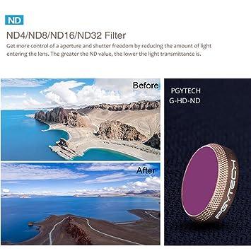 ND4 Lens for DJI Mavic AIR NXDA PGY Mavic Air Advanced Edition Filter Kit UV CPL ND4 Lens Filters for DJI Mavic AIR