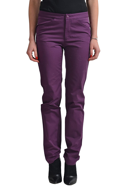 Versace Women's Purple Skinny Casual Pants US 26/4 IT 40