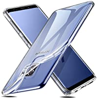 Samsung Galaxy S9 Plus Hülle, ESR Transparent Weiche Silikon [0.8mm Ultradünnen] Durchsichtig TPU Kratzfest Schutzhülle für Samsung Galaxy S9 Plus(Klar)