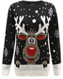 Jumper Kids Christmas Sweater Xmas Girls Childrens Boys Retro Knitted Winter New Novelty Reindeer Top Boy Rudolf Vintage AGE 3-12