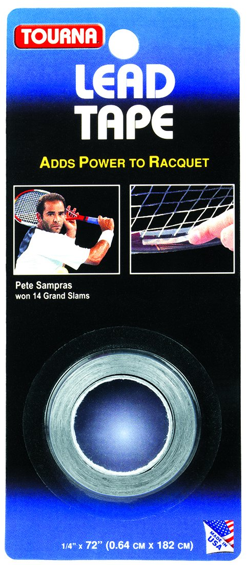 Unique Sports Tourna Grip - Contrapesos de plomo para raquetas de tenis precortados LD-36