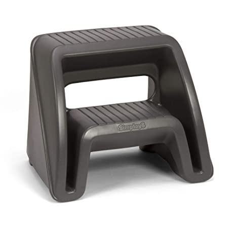 Swell Simplay3 Handy Home 2 Step Plastic Stool 16 In Gray Ibusinesslaw Wood Chair Design Ideas Ibusinesslaworg