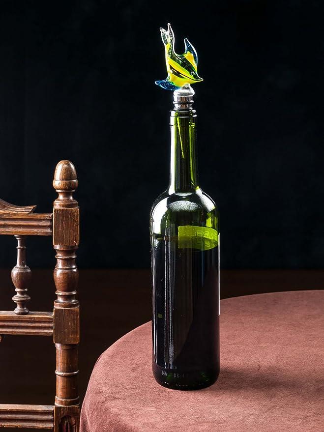 Compra Botella Cap Glasverschluss pecera botella de tapón de corcho Muranostil en Amazon.es