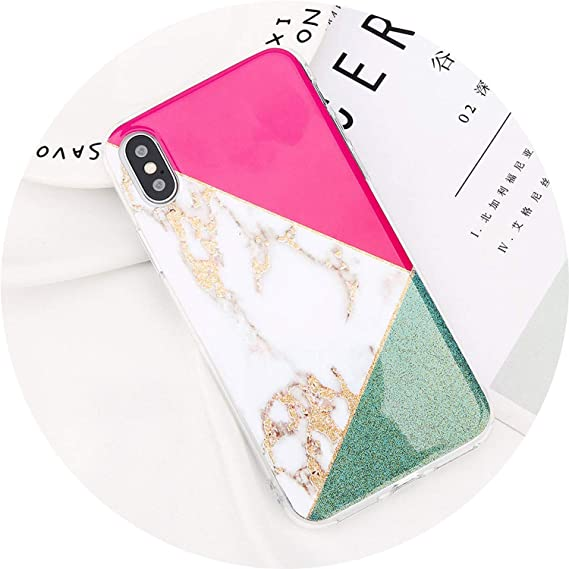 3e2d0963228d Go get it now Glitter Powder Marble Phone Case for iPhone 7 Plus Cases for  iPhone