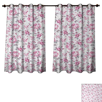 Cool Amazon Com Anzhouqux Shabby Chic Blackout Curtains Panels Beutiful Home Inspiration Papxelindsey Bellcom