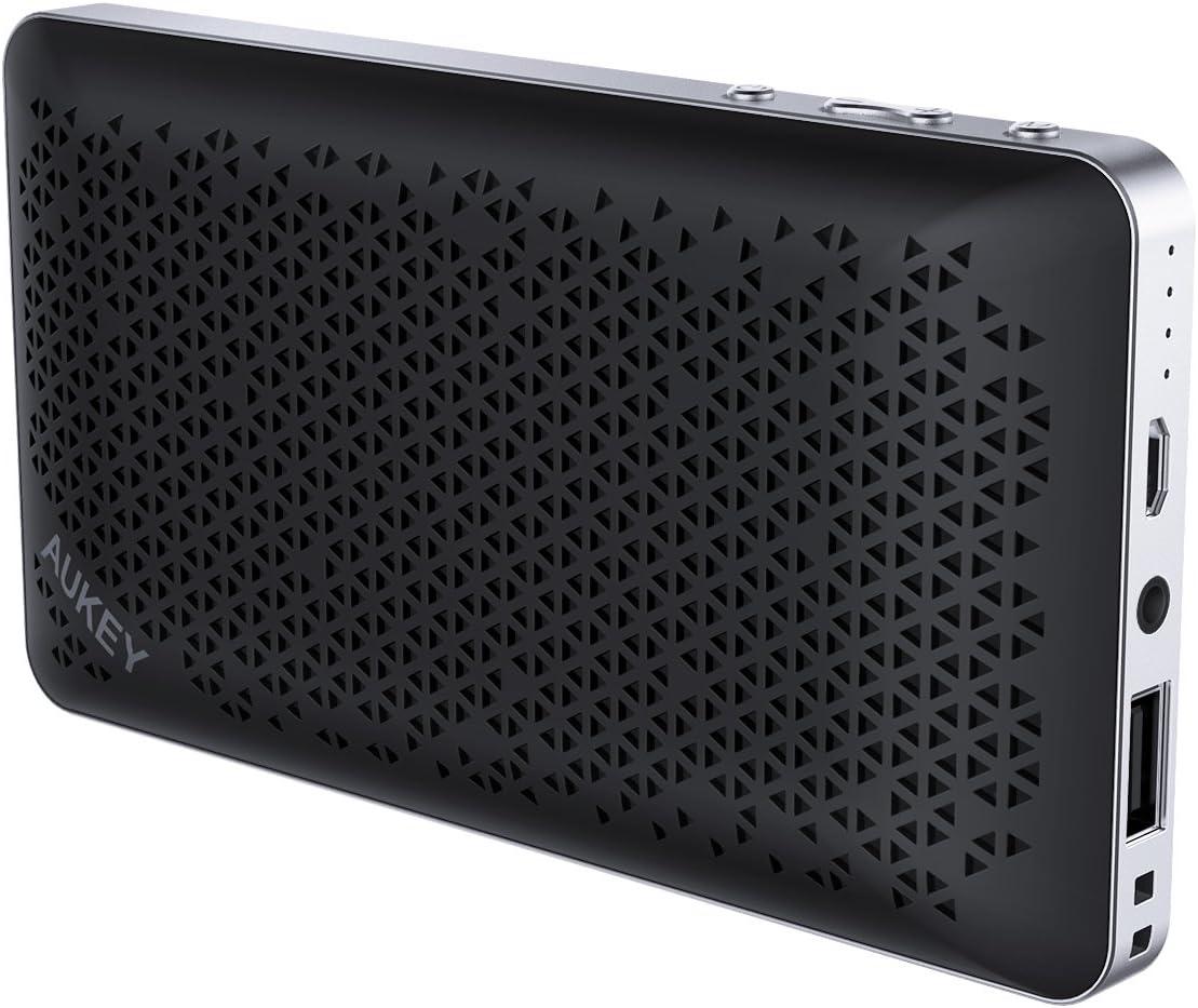 AUKEY Powerbank Bluetooth Speaker V4.2: Amazon.co.uk