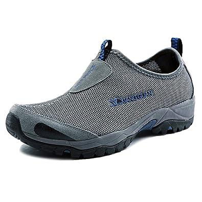 XIANG GUAN Zapatos de Verano Zapatillas Casuales de Malla de Deporte y Aire  Libre Respirables para