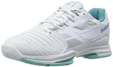 Chaussures de Tennis Babolat SFX All Court Women White Pink-Taille 36 L1dheSr