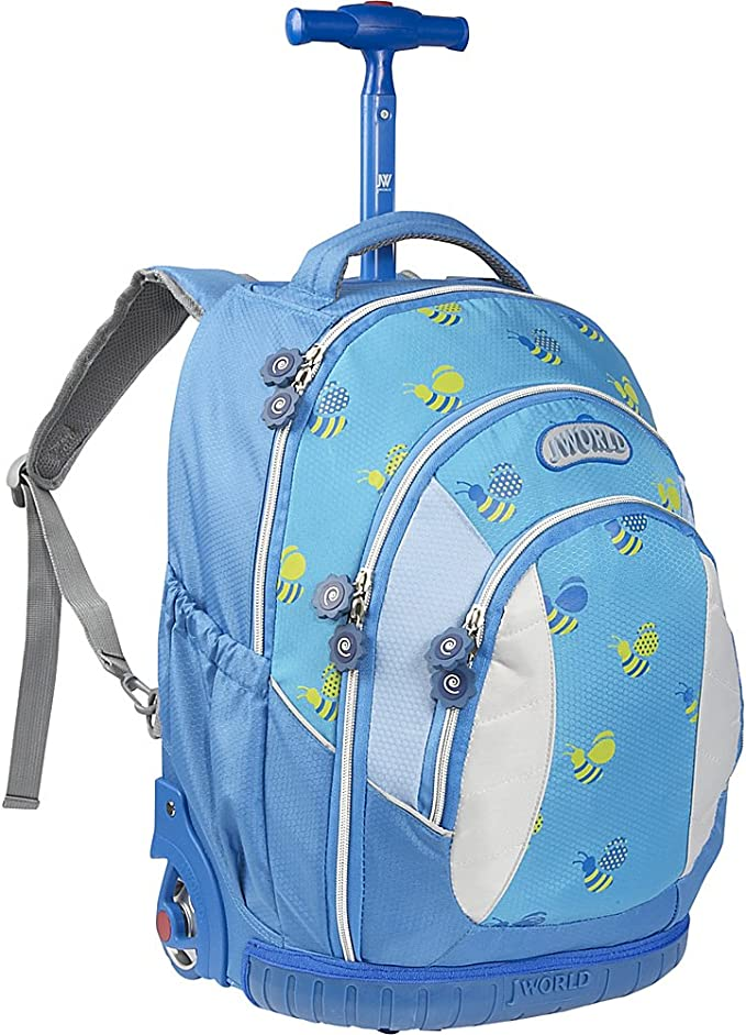 J World New York Sweet Kids Rolling Backpack