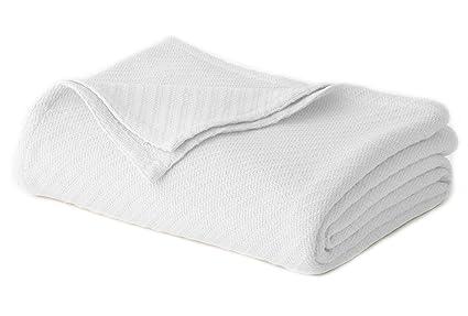 amazon com cotton craft 100 soft premium cotton thermal blanket