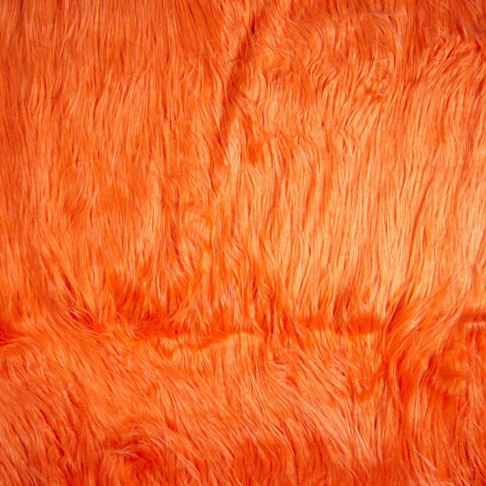 Shannon Faux Fur Gorilla Orange Shannon Fabrics 0412468