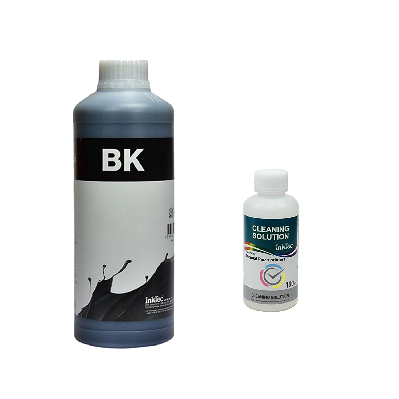 SC carga cartuchos tinta color negro 1000 ml, 1 litro universal ...