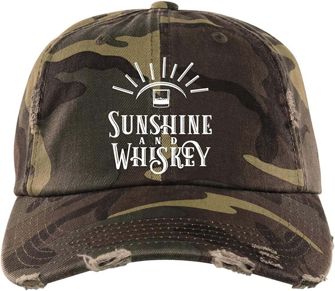 Sunshine /& Whiskey Washed Hat Drinking Baseball Cap Funny Hats Hungover Hat 90S Hat Whiskey Lover Hat Drink Party Caps Hats