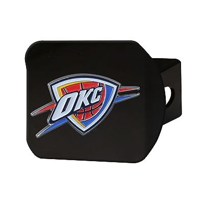 FANMATS NBA Oklahoma City Thunder NBA - Oklahoma City Thundercolor Hitch - Black, Team Color, One Size: Sports & Outdoors