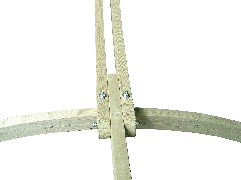 Siesta Grande H/ängemattenst/änder Fichte MacaMex MA-20001 H/ängemattengestell braun 420 x 160 x 160 cm