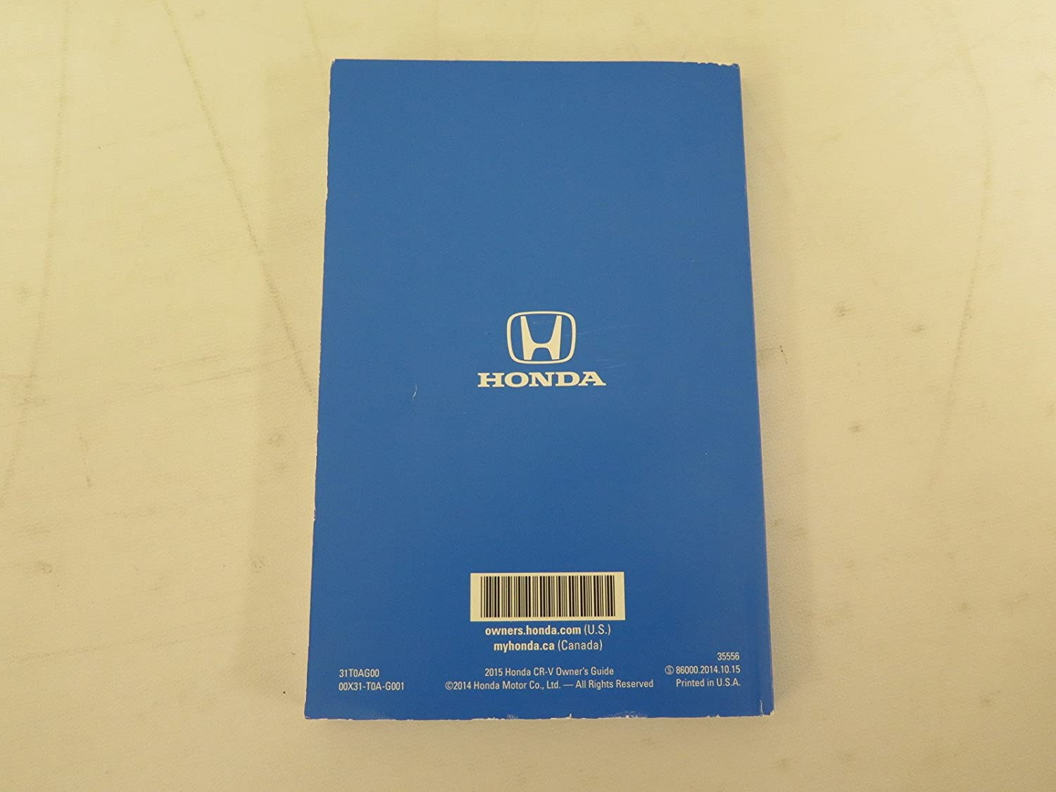 Amazon 2015 Honda CR V CRV Owners Manual Set With Case FAST SHIPPING Everything Else