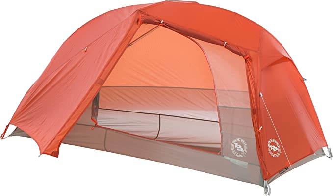 Amazon.com : Big Agnes Copper Spur HV UL Backpacking Tent, 1 Person (Orange) : Sports & Outdoors