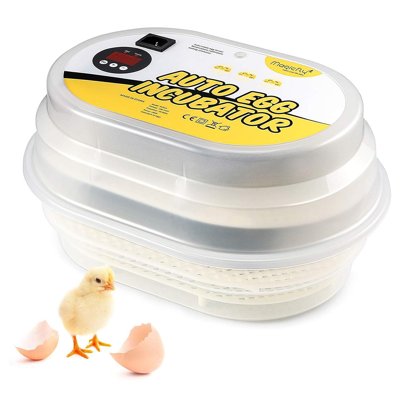 1. Magicfly Digital Mini Fully Automatic Egg Incubator