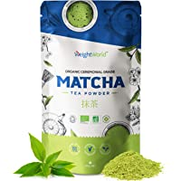 Matcha thee - Groene matcha thee poeder - Natuurlijke, vegan ontgiftende thee - Krachtige energieboost - 100g