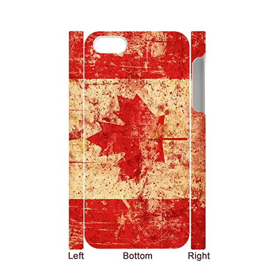8c7a75590b6 Amazon.com: Tyboo Phone Shells Durable Have With Canadian Flag Maple ...