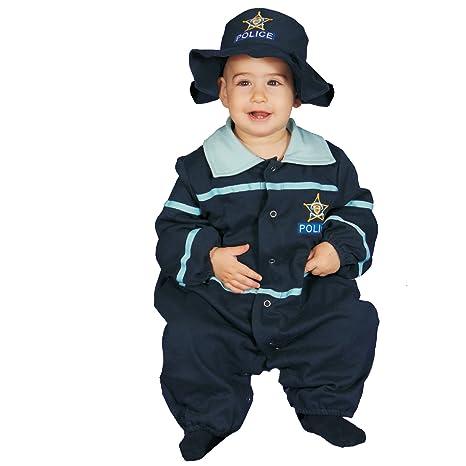 Dress up America Disfraz de oficial de policía lindo bebé ...